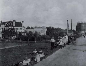 1910-2010 Een eeuw Nieuwe Park wijkteam