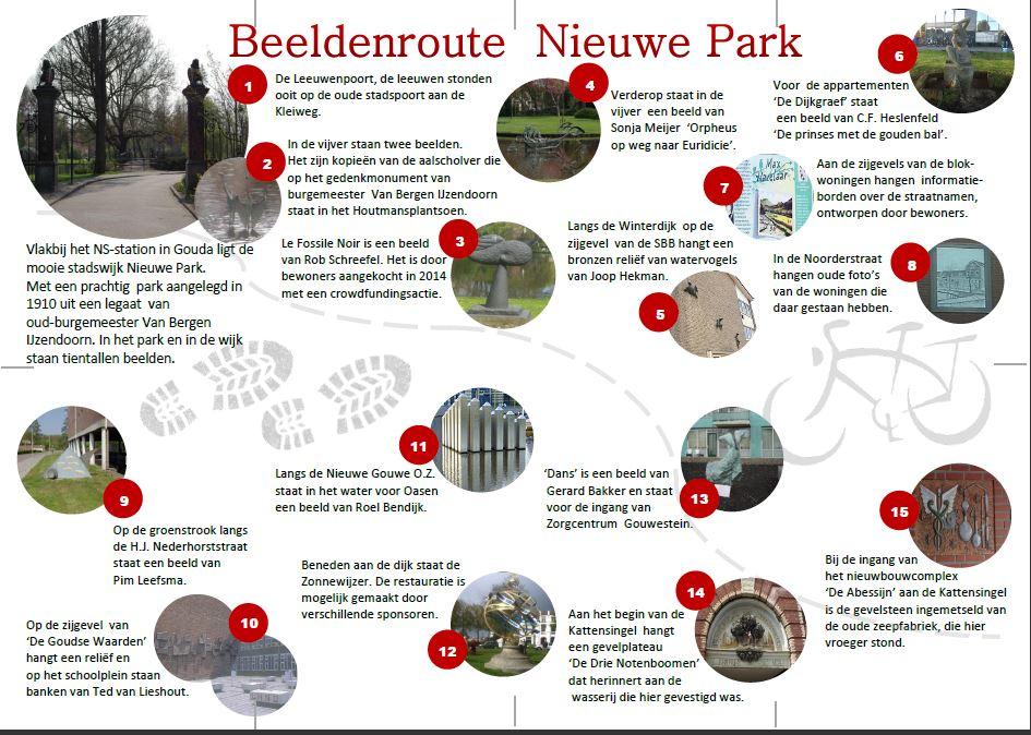Beeldenroute Nieuwe Park