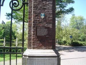 Van Bergen IJzendoornpark ANWB bord