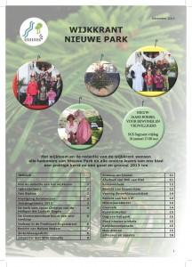 Wijkkrant Nieuwe park