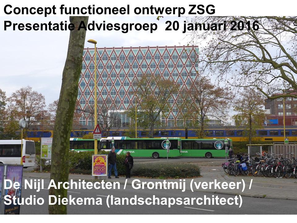 Concept functioneelontwerp ZSG