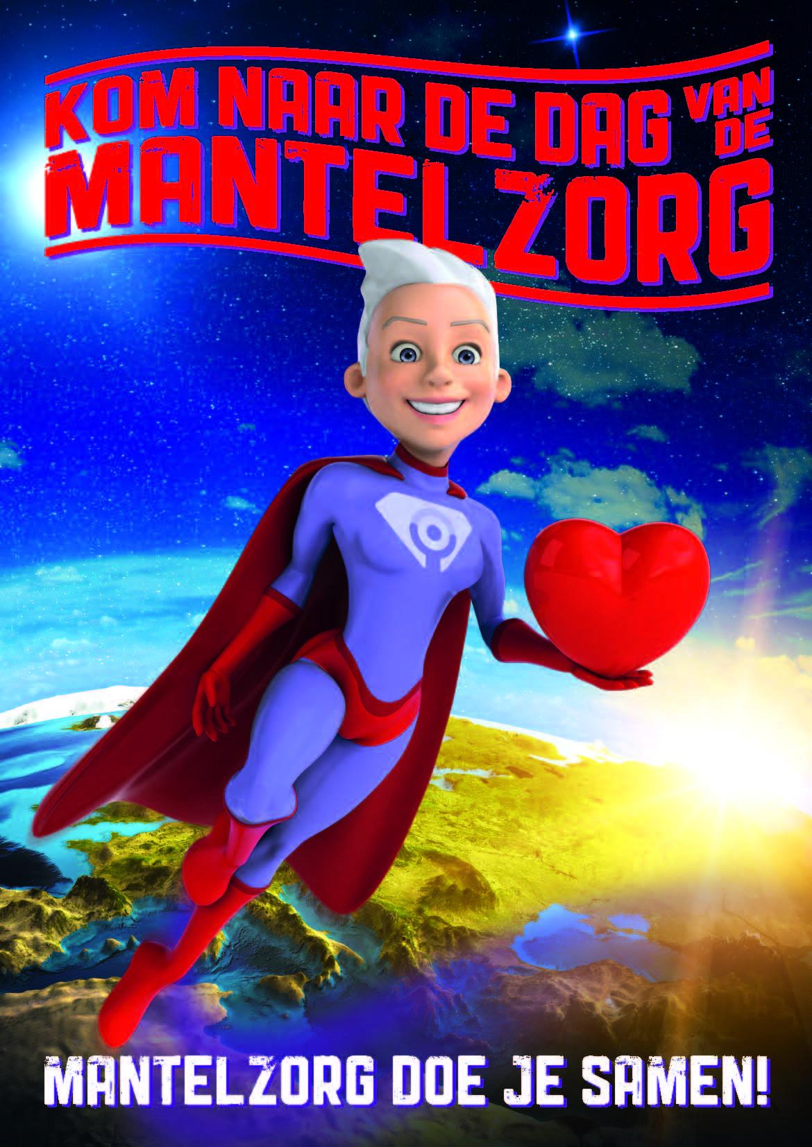 """Dag van de Mantelzorg 2016 met als thema """"Mantelzorg doe je samen""""."""