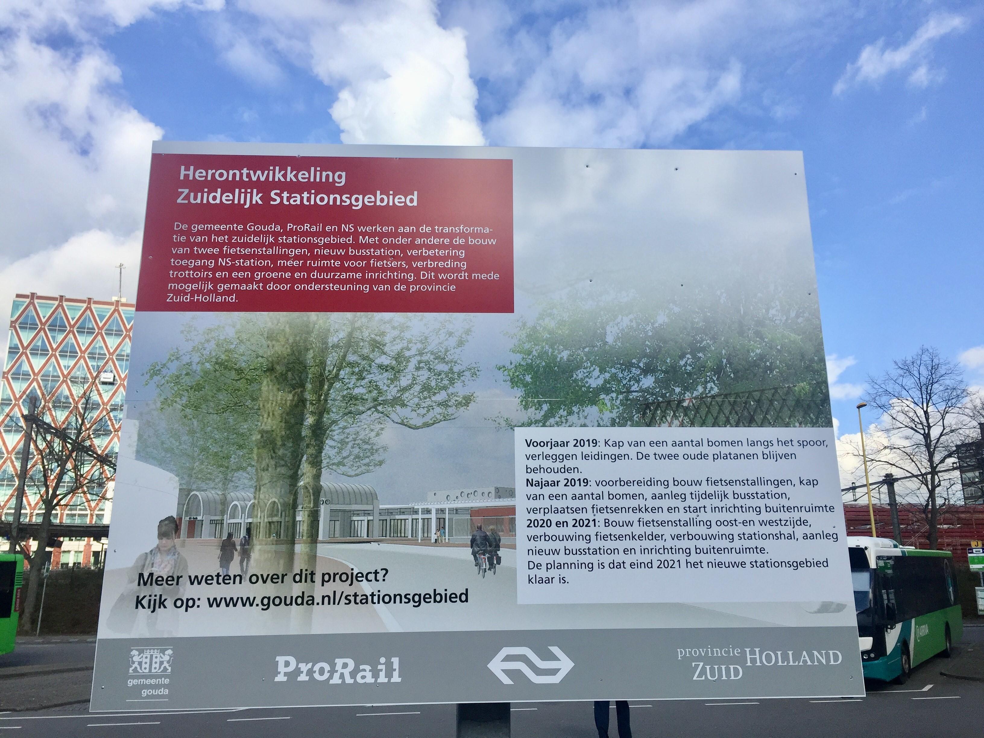 Start herontwikkeling Zuidelijk Stationsgebied