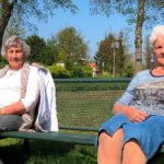Mevrouw Van der Weijde en mevrouw Pennewaard